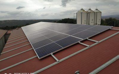 Fotovoltaica en granja de Baltar (fase 1)