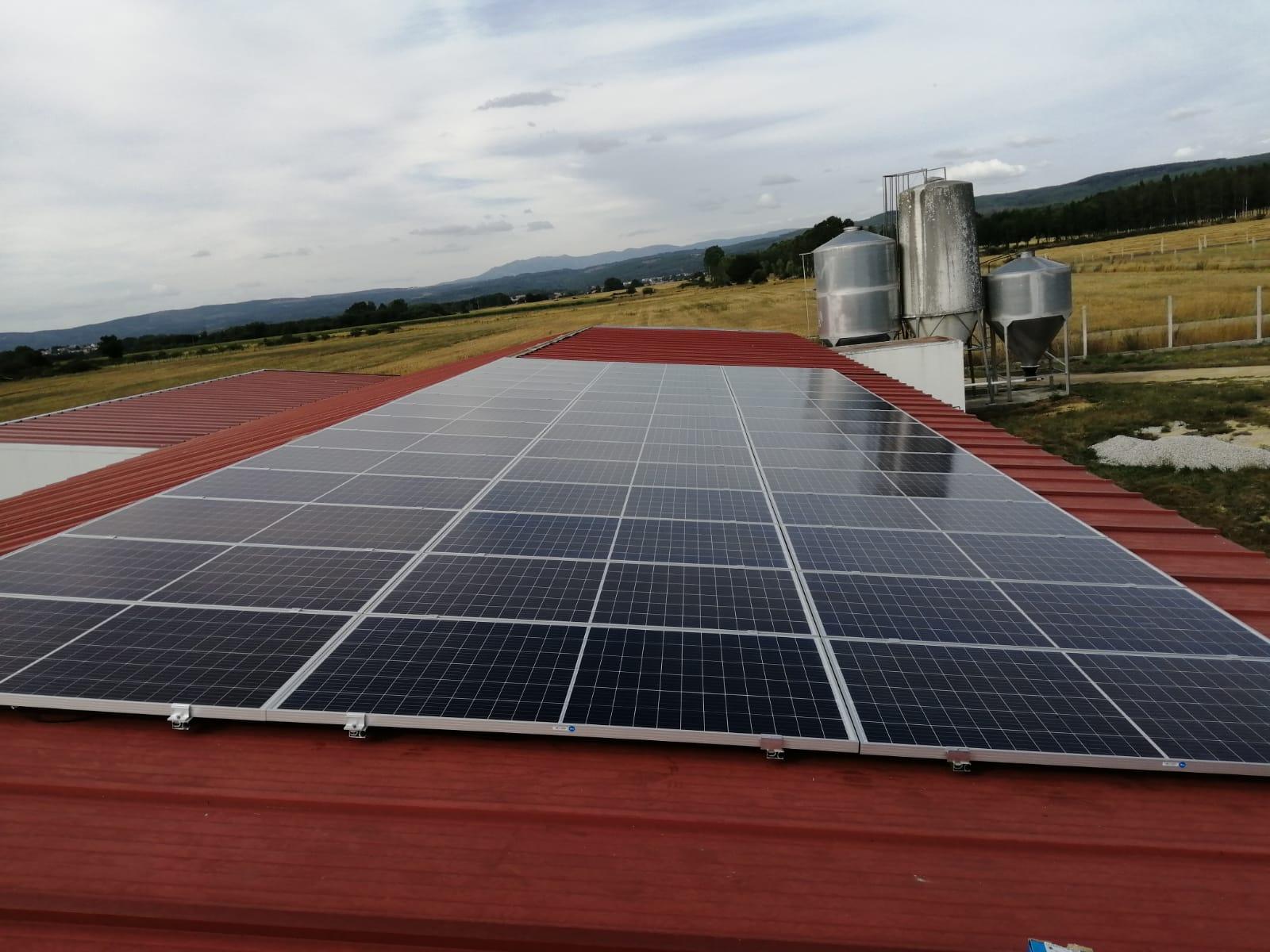 Fotovoltaica granja
