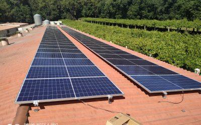 Fotovoltaica en granja de Rialdonio (Pontevedra)