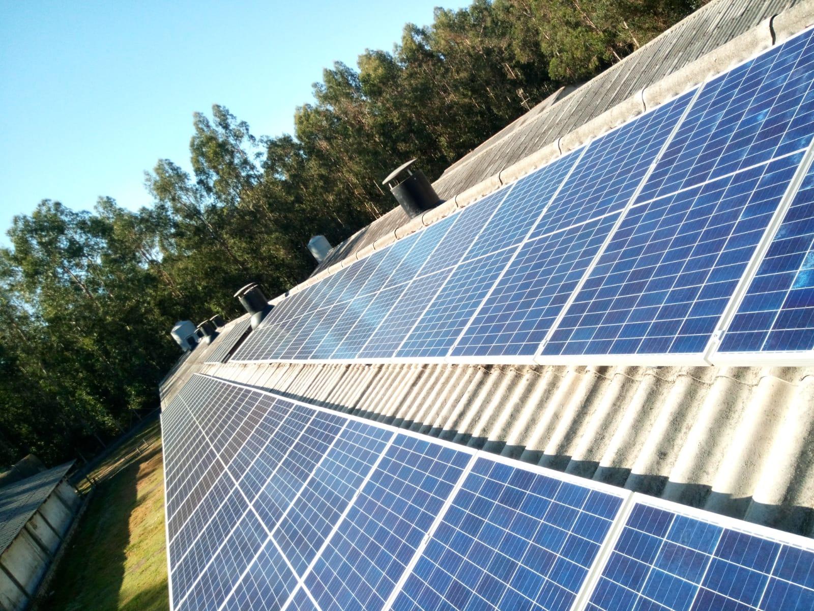 Fotovoltaica granja en galicia