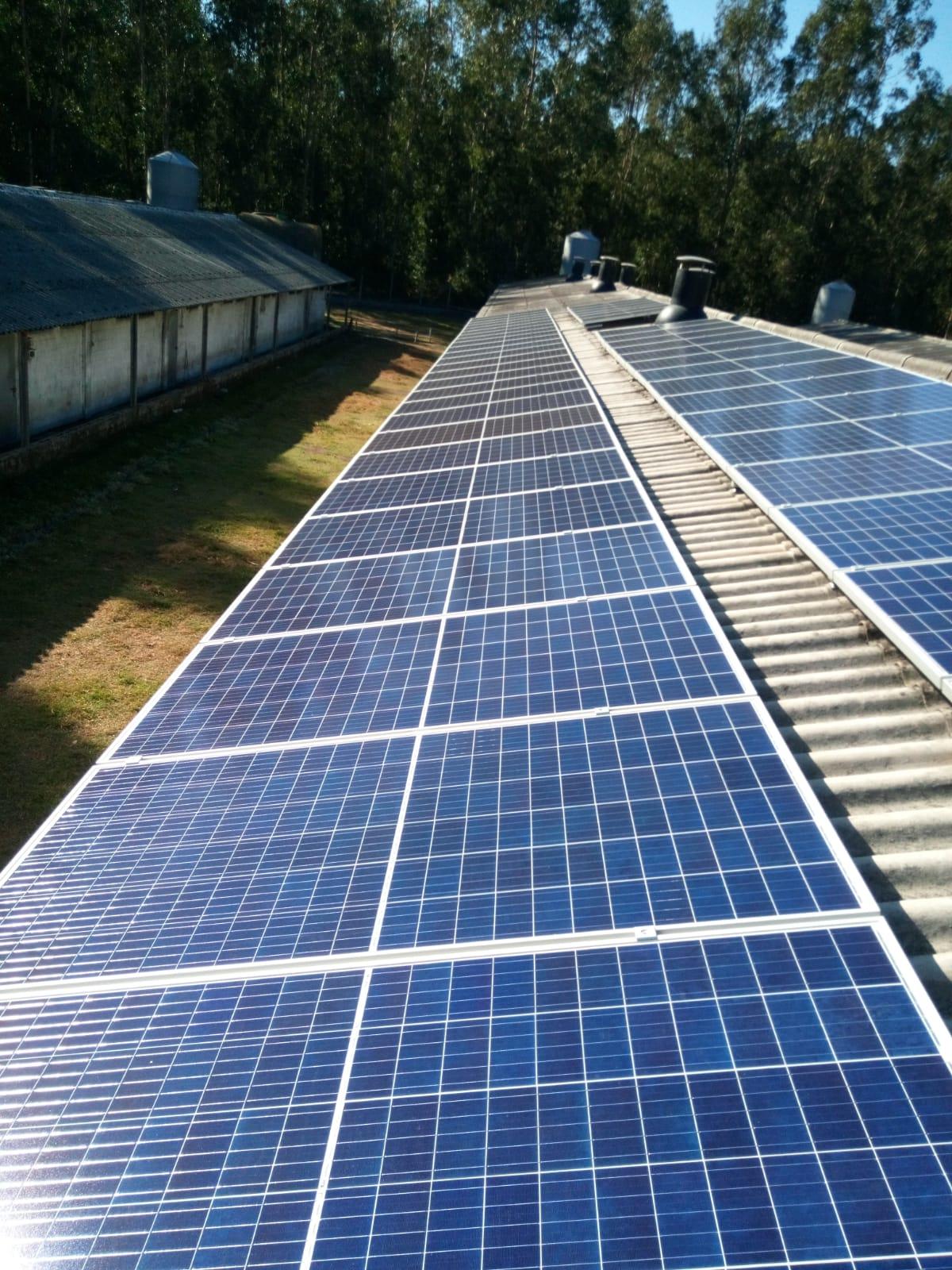 Fotovoltaica en granja galicia