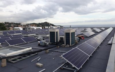 Fotovoltaica en fábrica textil de Mataró