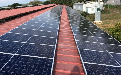 Fotovoltaica en granja porcina de Silleda (Pontevedra)