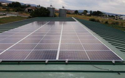 Fotovoltaica en granja de Xinzo de Limia