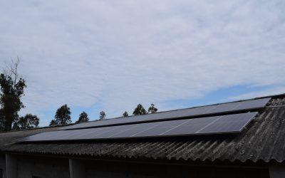 Fotovoltaica en granja de Malpica (La Coruña)