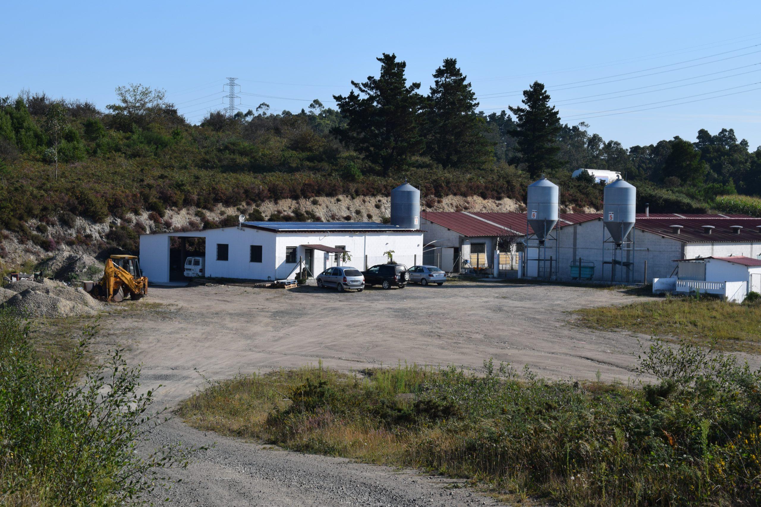 Fotovoltaica en granja gallega