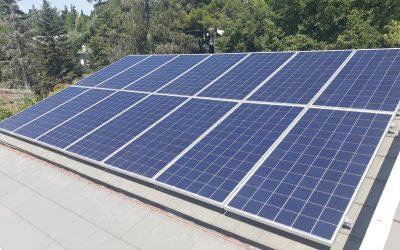 Fotovoltaica en vivienda de Conde de Orgaz