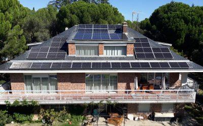Fotovoltaica en vivienda unifamiliar de Casaquemada