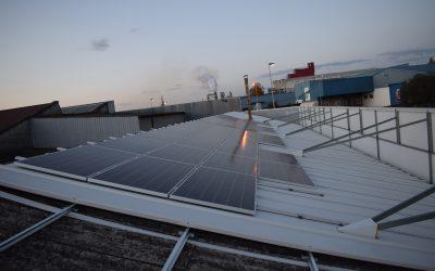 Fotovoltaica en industria del mueble de San Cimbrao