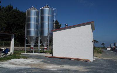 Biomasa en granja ubicada en Pontevedra